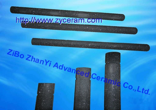 Recrystallized Silicon Carbide Thermocoupe Protection Tubes